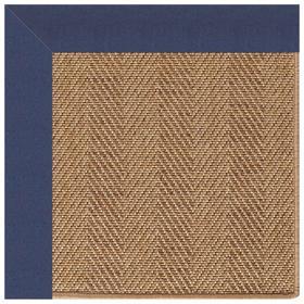 "Islamorada-Herringbone Canvas Neptune - Rectangle - 24"" x 36"""