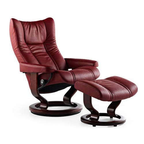 Stressless By Ekornes - Stressless Wing (S) Classic chair