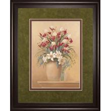 """""""Classic Petal Il"""" By Gloria Eriksen Framed Print Wall Art"""