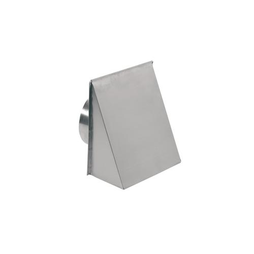"""Gallery - Aluminum Wall Cap for 8"""" Round Duct with Backdraft Damper"""