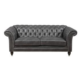 Emerald Home Capone Loveseat Charcoal