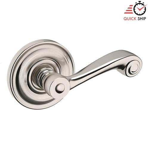 Baldwin - Satin Nickel with Lifetime Finish 5103 Estate Lever with 5048 Rose