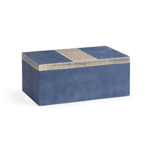Suede Box - Blue