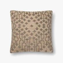 See Details - P0552 Taupe Pillow
