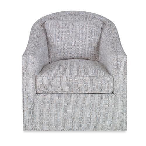 Academy Swivel Chair - No Wood Trim