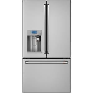 Cafe AppliancesENERGY STAR® 27.8 Cu. Ft. Smart French-Door Refrigerator with Keurig® K-Cup® Brewing System