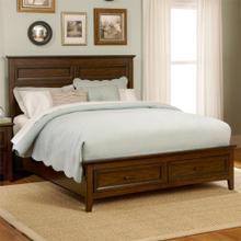 Laurel Creek Collection Queen Storage Bed in Cinnamon Finish          (461-BR14FS/13/90RSP)