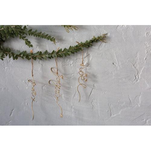 "7.75""x 3"" Season's Greetings Ornaments"