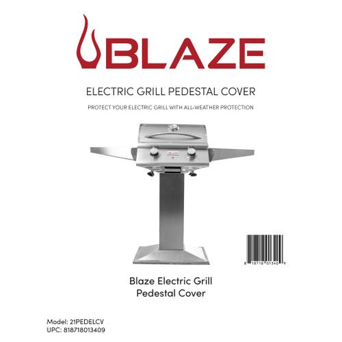 Blaze Electric Pedestal Grill