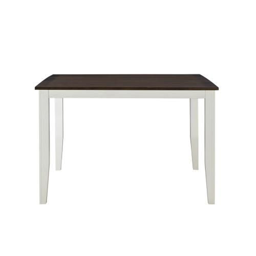 Merrill Creek Gathering Height Table, Deep Brown & White 8208-tpb5454