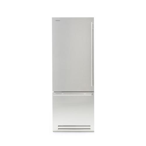 Brilliance (Width: 30in, Configures: 1 Door + 1 Bottom Drawer + 2 Separate Temperatures (0t), Functions: Fridge + Freezer, Finish: Solid, Opening: Right, Icemaker: No)