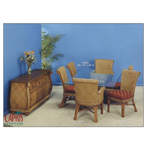 Capris Furniture - 637 Dining 1