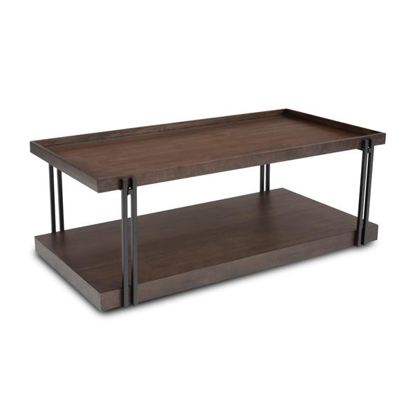 See Details - Prairie Rectangular Coffee Table with Casters