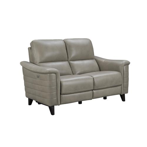 Malone Gray-Beige Loveseat