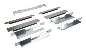 Built-In Oven Side Trim Kit, Stainless Steel