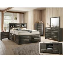 Emily Dresser 8 Drawers Grey