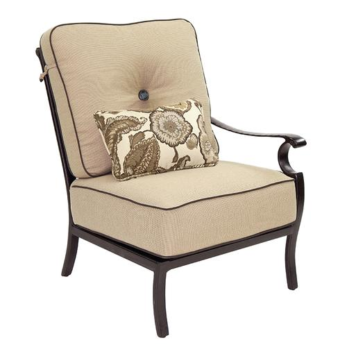 Castelle - Monterey High Back Sectional Left Arm Lounge Chair