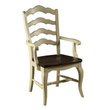 See Details - Model 35 Arm Chair Wood Seat