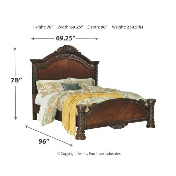North Shore Queen Panel Bed