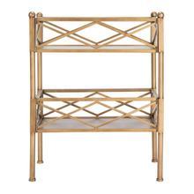 See Details - Jamese Storage Shelves - Gold