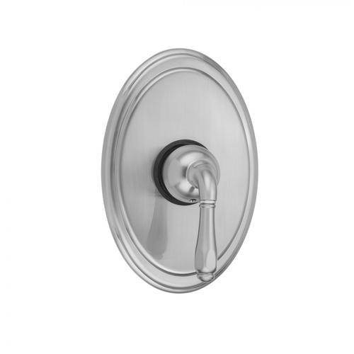 Europa Bronze - Oval Plate With Smooth Lever Trim For Pressure Balance Valve (J-PBV)