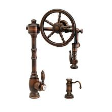 Wheel Pulldown Faucet 2pc. Suite - 5100-2 - Waterstone Luxury Kitchen Faucets
