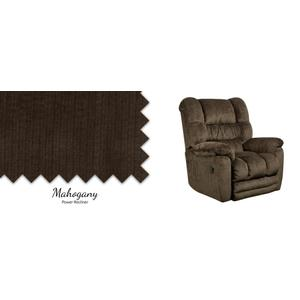 Mahogany Power Recliner