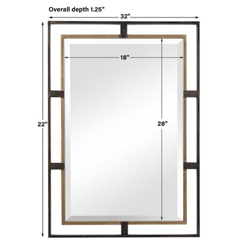 Carrizo Rectangle Mirror
