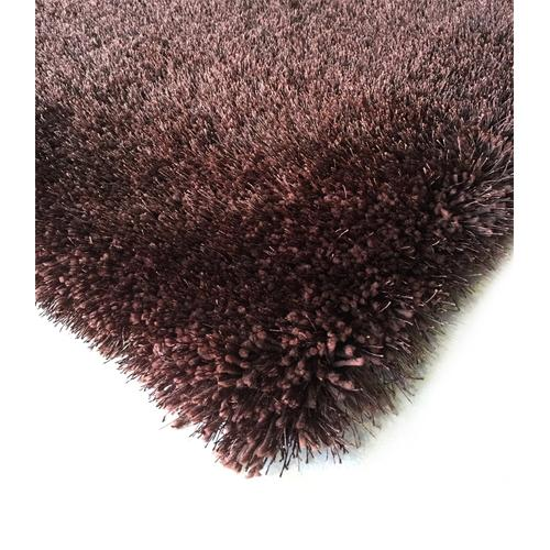 "Shaggy Viscose Solid S.V.S. - Dusty Pink / 7'6"" x 10'3"""