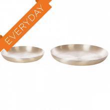 See Details - Brushed Gold Platters