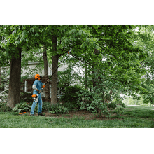 A powerful and lightweight telescoping pole pruner designed for professionals.