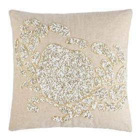 Pendi Pillow - Beige/white