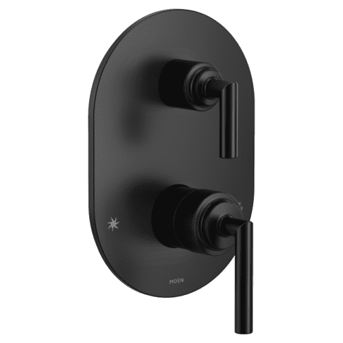 Arris matte black m-core 3-series with integrated transfer valve trim