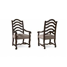 Collection One Harvest Arm Chair - Espresso