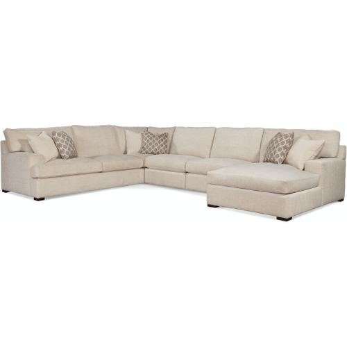 Braxton Culler Inc - Cambria 5-Piece Chaise Sectional