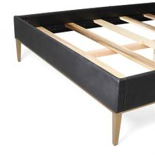 Ellipse Queen Bed-Black