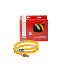 See Details - Smart Choice 4' Long 5/8'' Safety+PLUS® ProCoat Gas Connector