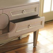 Collectors Cabinet Console-Grey