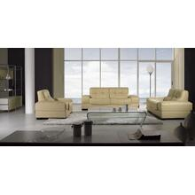 Divani Casa BO3884 Modern Beige Leather Sofa Set