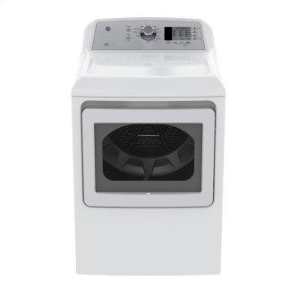 GE 7.4 Cu.Ft. Top Load Energy Star Gas Dryer White GTD65GBMKWS