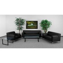 HERCULES Definity Series Reception Set in Black LeatherSoft