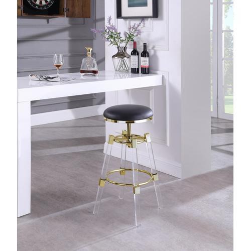"Venus Faux Leather Adjustable Bar  Counter Stool - 18"" W x 18"" D x 25"" - 30"" H"