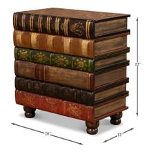 Florentine Books Chairside Chest