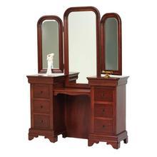 See Details - Louis Phillipe Vanity- Tri Mirror