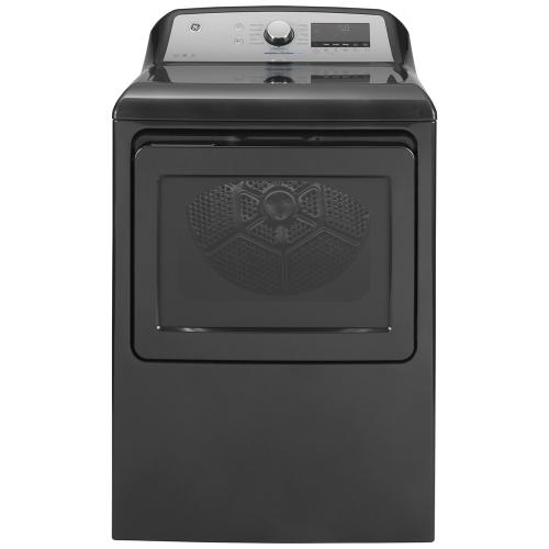 GE® 7.4 Cu. Ft. Capacity Electric Dryer with Built-In Wifi Diamond Grey - GTD84ECMNDG