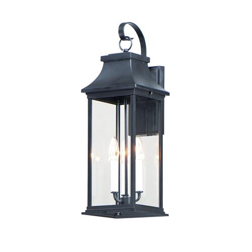 Vicksburg 3-Light Large Outdoor Wall Sconce