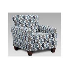 Chair Anna Accent Chair Blue/Grey  (9001)