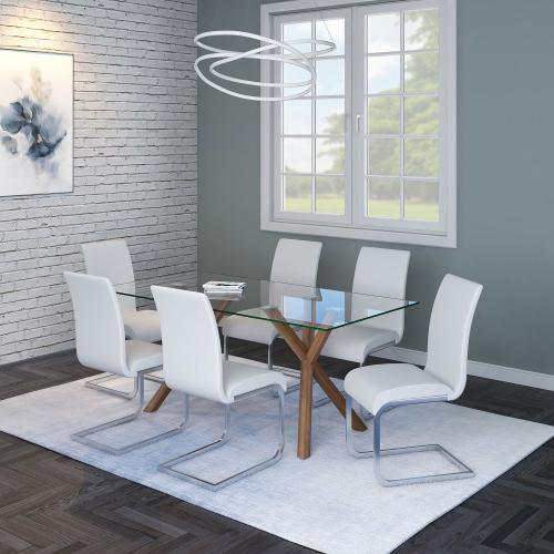 Maxim Side Chair, set of 2 in White