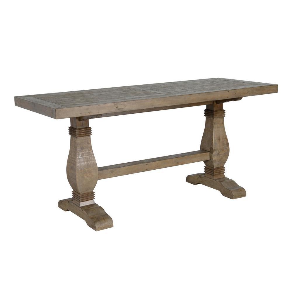 See Details - Caleb 77\u0022 Gathering Table Desert Gray