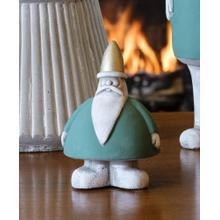 Extra Small Chubby Santa, Green